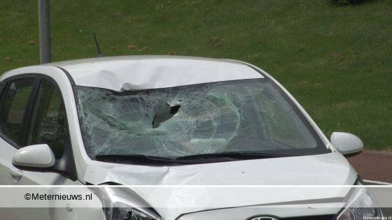 Voetganger ernstig gewond bij aanrijding Hoogezand.