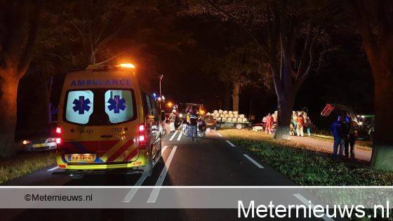Dodelijk ongeval op de Asserstraat in Ubbena.