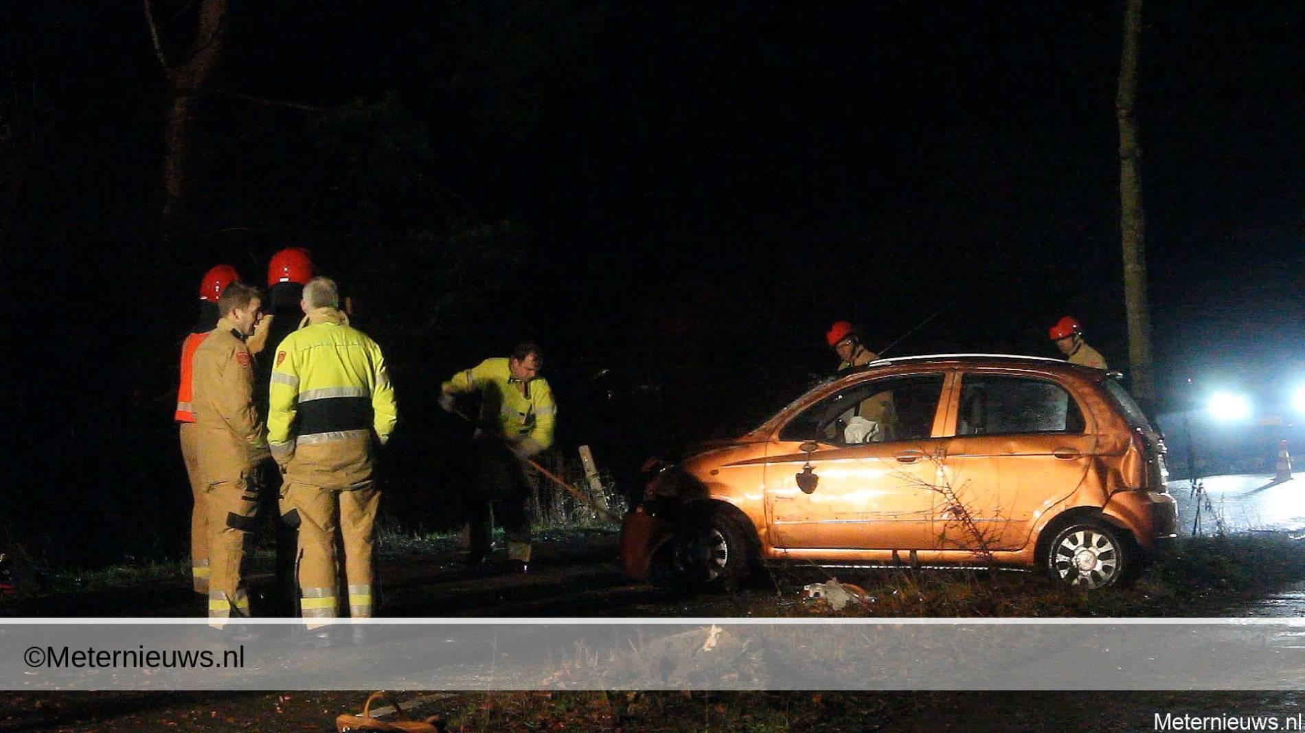 Auto ongeval in Onnen.