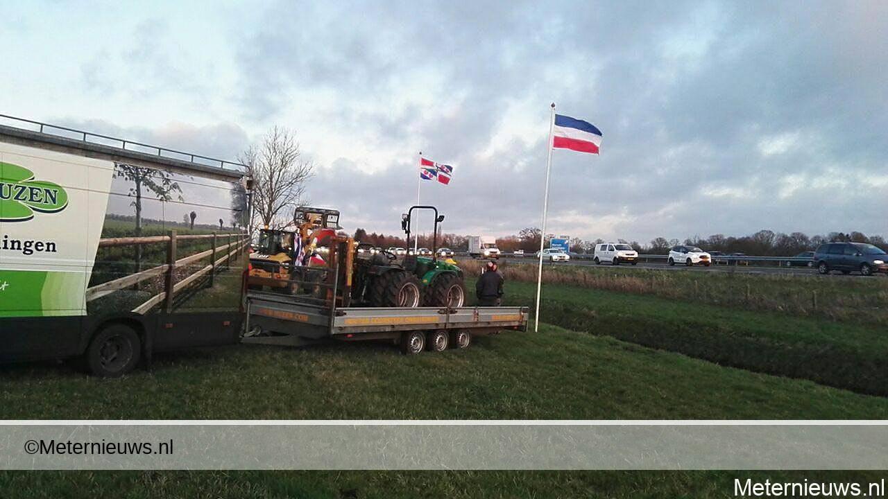boeren protest a7 marum