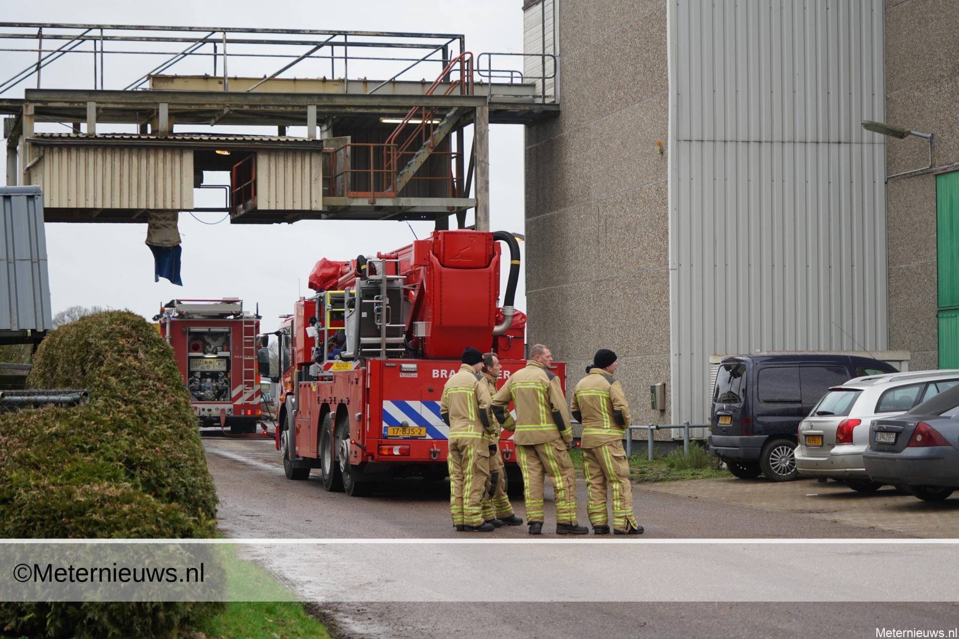 brand fiktersysteembedrijf Veenoord