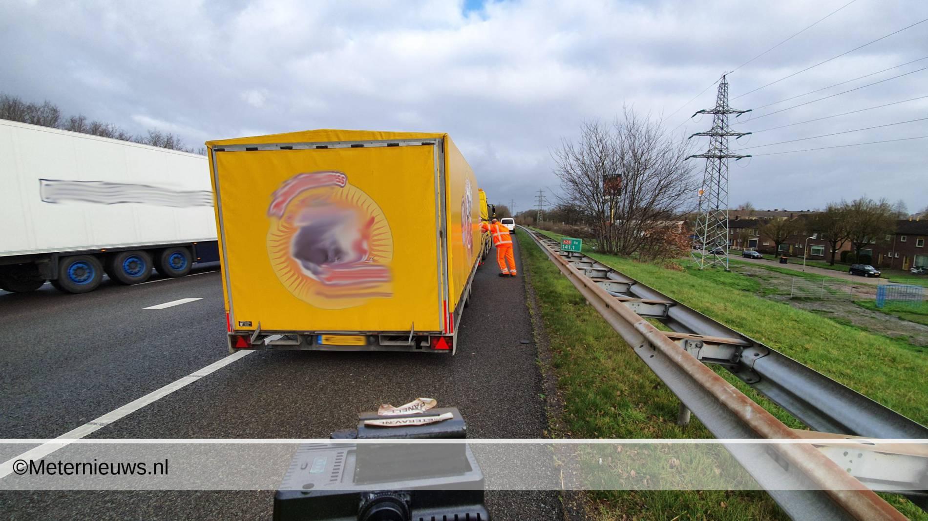 ongeval a28 Hoogeveen2
