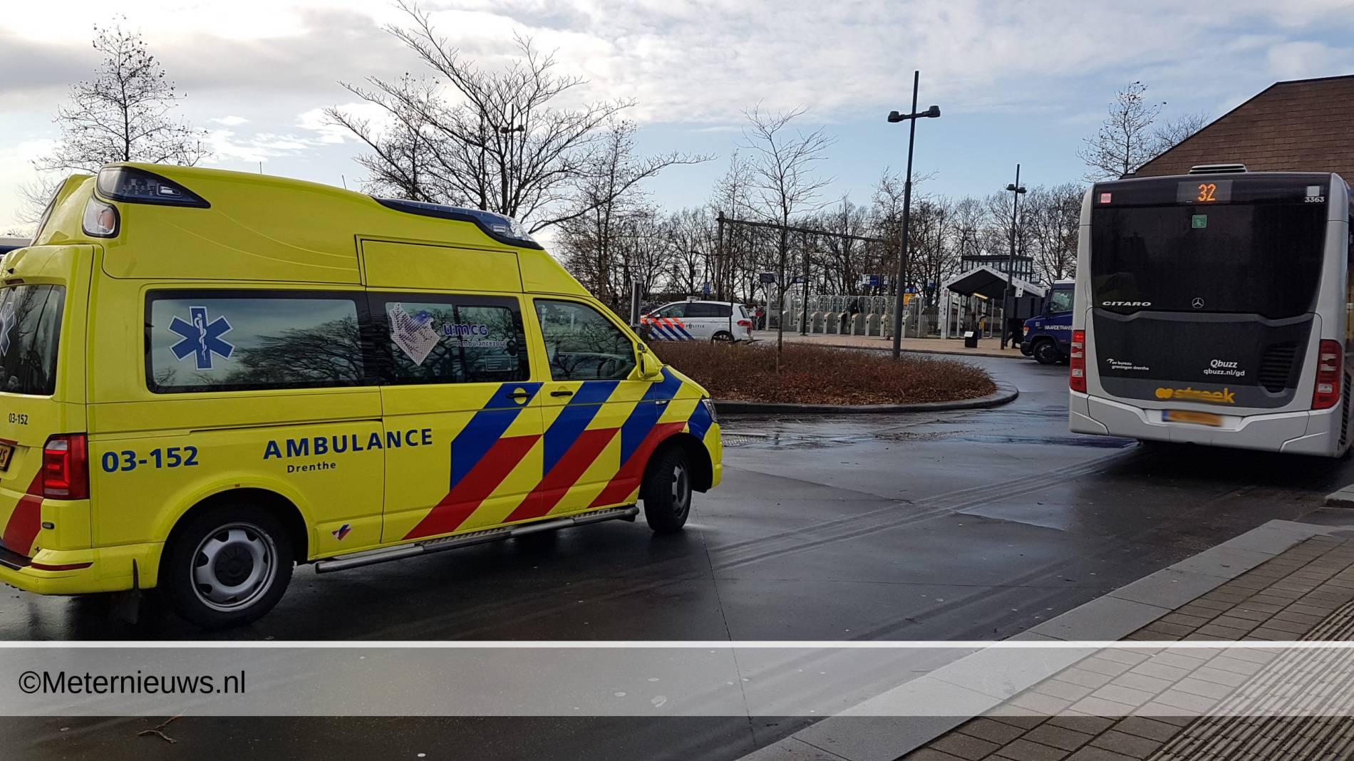 ongeval fietser bus Hoogeveen