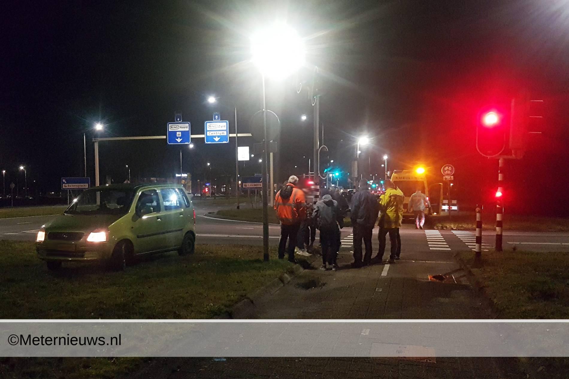 ongevalscooterautoAssen