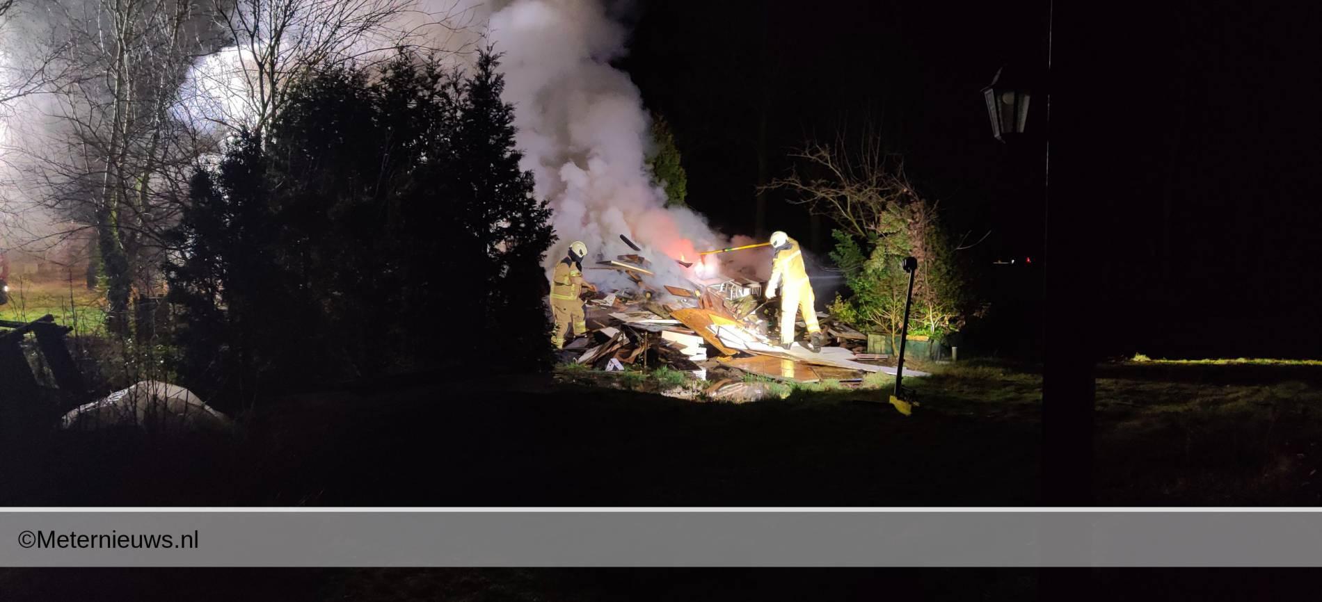 oude inboeder in brand campingAnloo