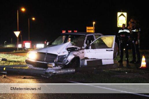 auto ongeval Nijbracht Emmen