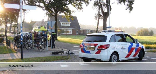 scholier gewond Hollandscheveld
