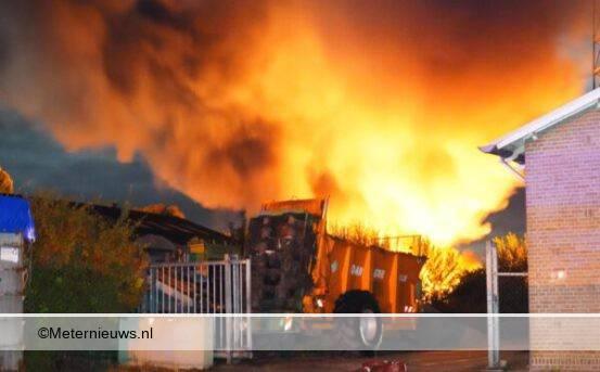grote brand De krim brandstichting