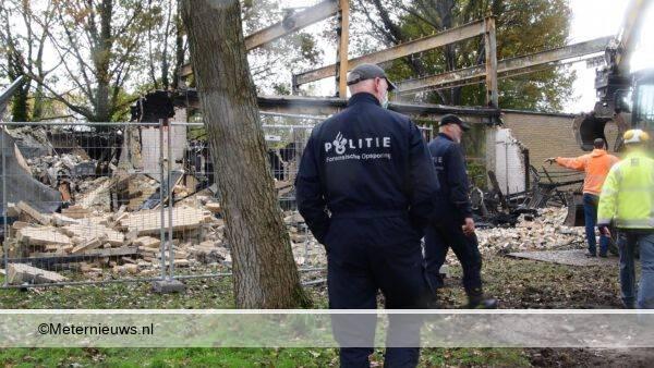 forensische opsporing brand gymzaal Roden