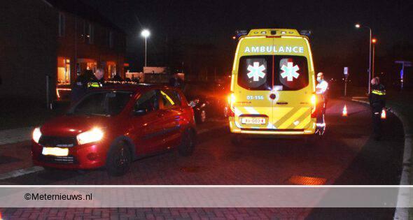 Negen jarig meisje in Meppel gewond na aanrijding (Video) #MEPPEL - In Meppel op de Jan.
