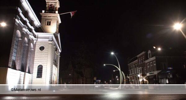 avondklok in Assen