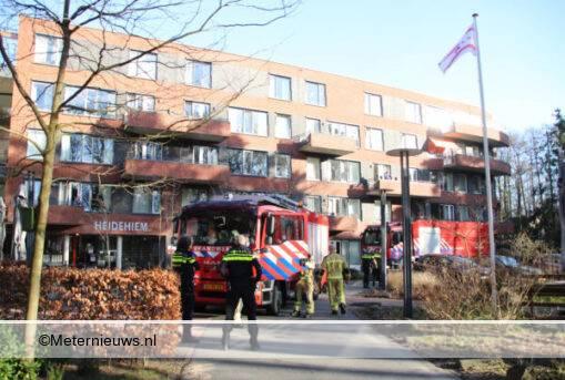 keukenbrandje woonzorg centrum Emmen