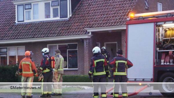 woningbrand in veenhuizen