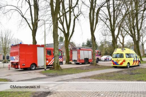calamiteit bij school Holterweg in Vries