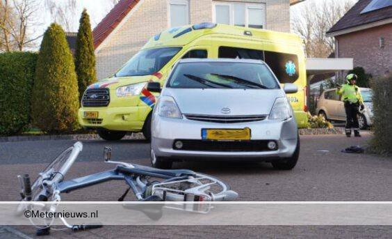 elektrische fietser auto ongeval Assen2