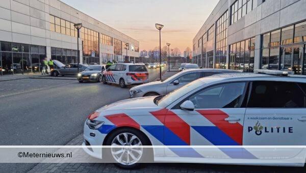 grote verkeers controle Groenewegenstraat Hoogeveen