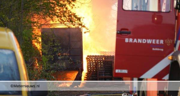 schuur grote brand balkbrug