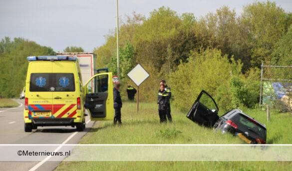 auto ongeval Rondweg Emmen