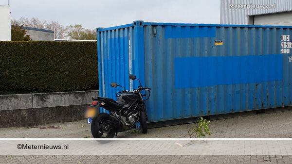 lesmotortegencontainer Groningen
