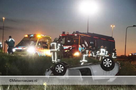 ongeval toerit A37 Holsloot