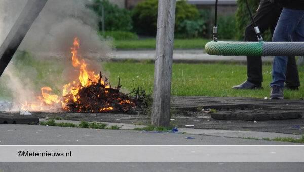 brandstichtig speeltoestel in Assen