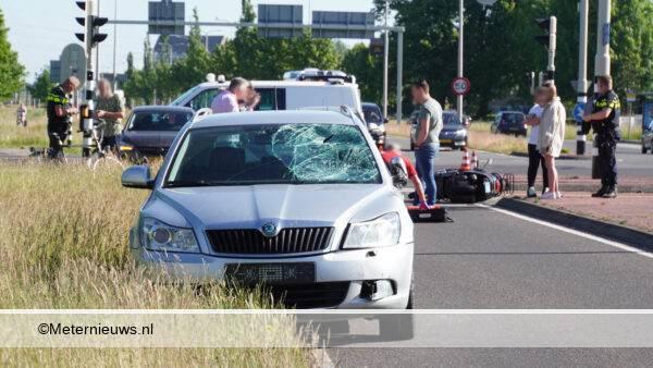 ongeval auto scooter ongeval Assen