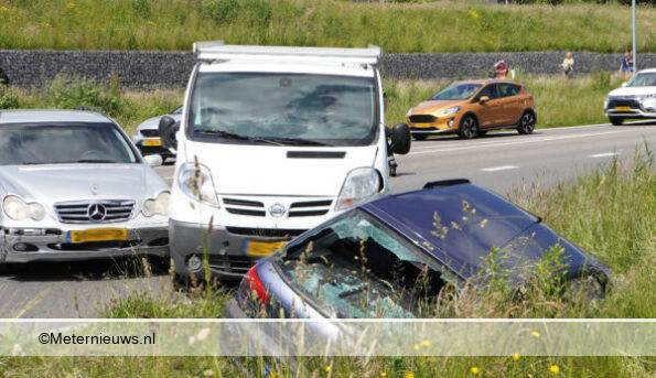 ongeval verkeersruzie in Assen