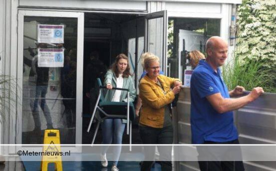 ziekenhuis assen breekt triagetent af