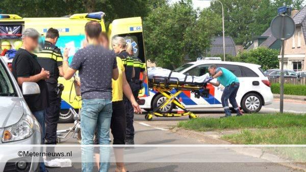 fietser ongeval Dedemsvaart