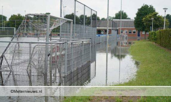 wateroverlast sportpark Dedemsvaart9
