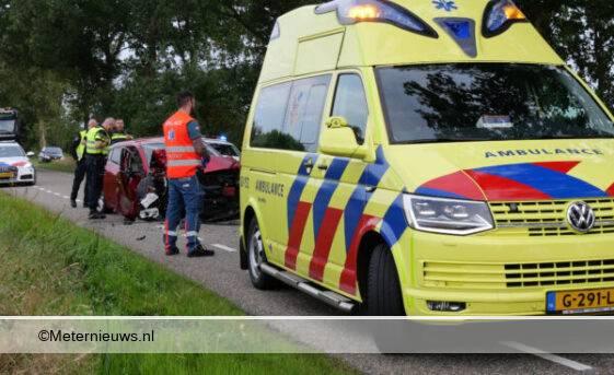 Ongeval auto boom Eursinge