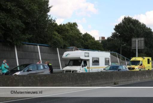 ongeval a28 Groningen