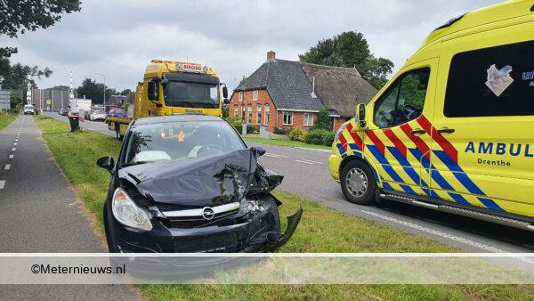 ongeval autos Tynaarlo