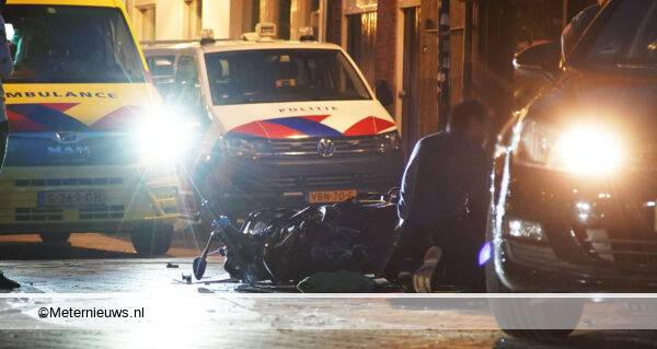 ongeval scooter auto Assen