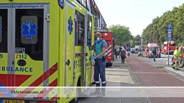 Ernstig gewonde na elektrocutie in Groningen03