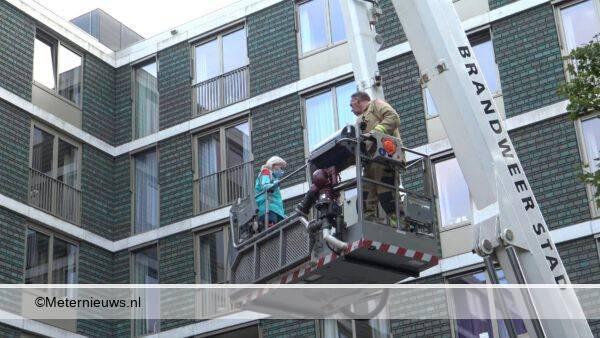 brand zorgcentrum Groningen00