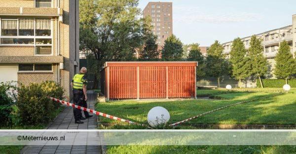 geweldsincident in fietsenhok Groningen