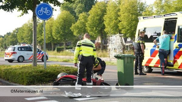 scooter ongeval Assen
