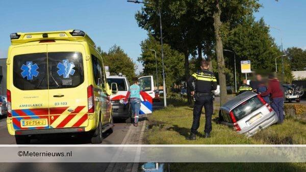 auto sloot gewonde Assen1