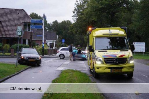 fietsster gewond aanrjding auto Roden