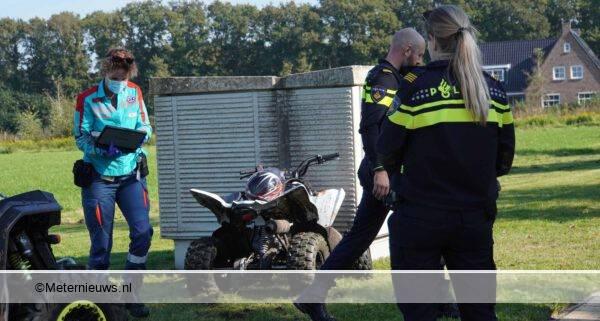 kind op quad gewond na aanrijdingNooitgedacht