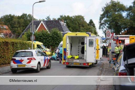 meisje op fiets sonder taxibus en ernstig gewond in Groningse Ha